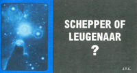 Cover Thumbnail for Schepper of leugenaar? (Chick Publications, 2004 series)