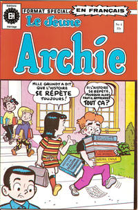 Cover Thumbnail for Le Jeune Archie (Editions Héritage, 1976 series) #4