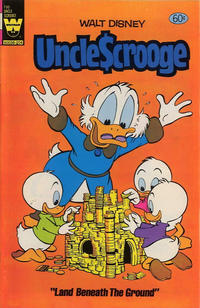Cover Thumbnail for Uncle Scrooge (Western, 1963 series) #196 [Yellow Whitman Logo]