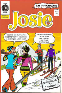 Cover Thumbnail for Josie (Editions Héritage, 1974 series) #15