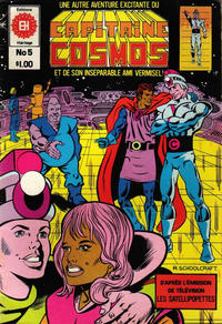 Cover Thumbnail for Capitaine Cosmos (Editions Héritage, 1980 series) #5