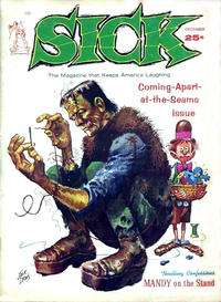 Cover Thumbnail for Sick (Prize, 1960 series) #v4#3 [25]