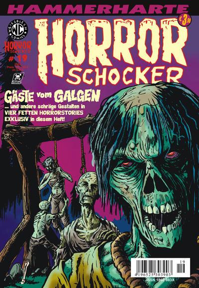 Cover for Horrorschocker (Weissblech Comics, 2004 series) #19
