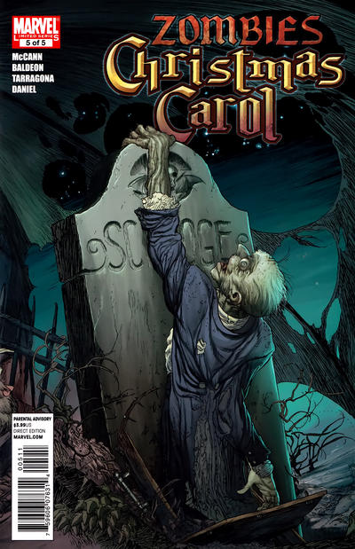 Cover for Marvel Zombies Christmas Carol (Marvel, 2011 series) #5