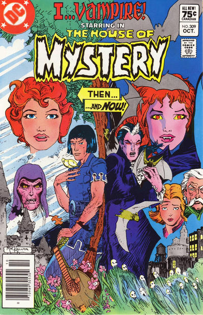 Cover for House of Mystery (DC, 1951 series) #309 [Direct]