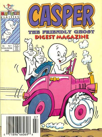 Cover for Casper Digest Magazine (Harvey, 1991 series) #4