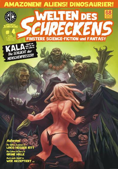 Cover for Welten des Schreckens (Weissblech Comics, 2009 series) #4