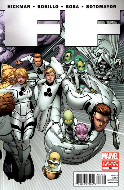 Cover for FF (Marvel, 2011 series) #13