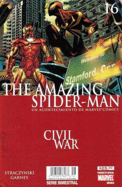 Cover for The Amazing Spider-Man, el Asombroso Hombre Araña (Editorial Televisa, 2005 series) #16