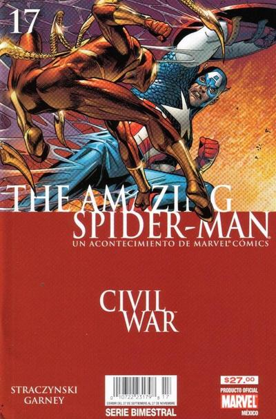 Cover for The Amazing Spider-Man, el Asombroso Hombre Araña (Editorial Televisa, 2005 series) #17