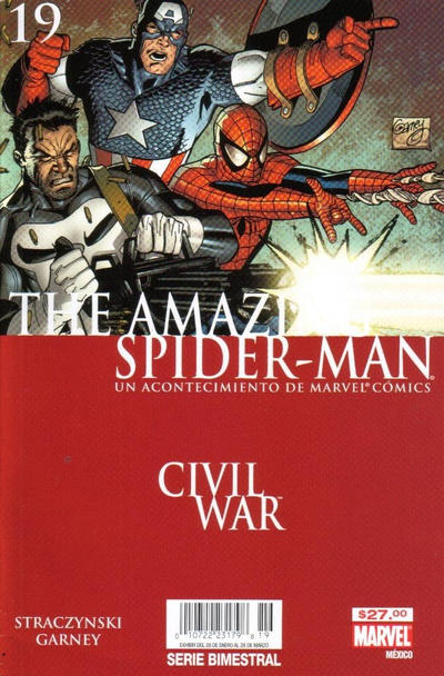 Cover for The Amazing Spider-Man, el Asombroso Hombre Araña (Editorial Televisa, 2005 series) #19