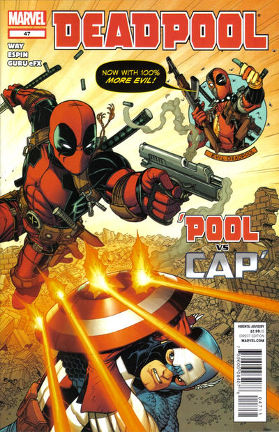 Cover for Deadpool (Marvel, 2008 series) #47
