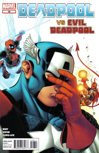 Cover for Deadpool (Marvel, 2008 series) #48