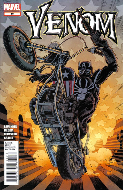 Cover for Venom (Marvel, 2011 series) #10