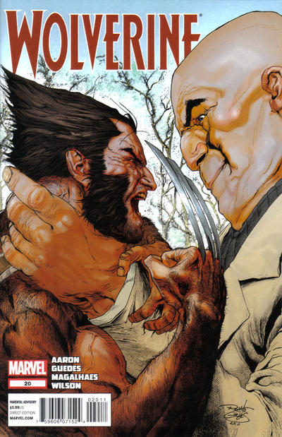 Cover for Wolverine (Marvel, 2010 series) #20 [Direct Edition]