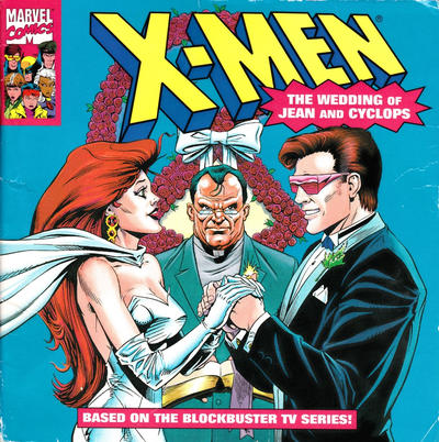 Cover for X-Men: The Wedding of Jean and Cyclops (Random House, 1994 series)
