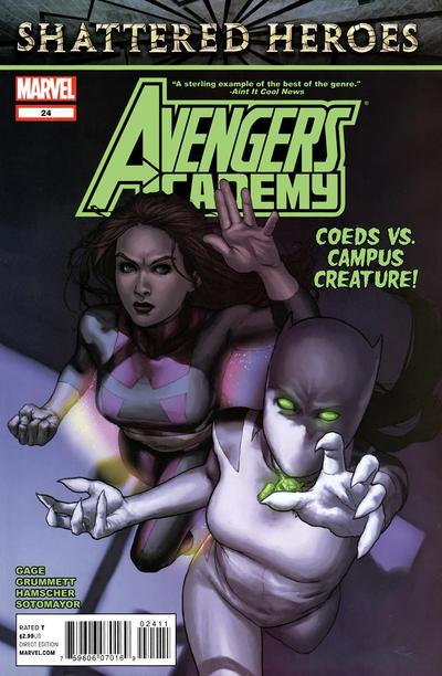 Cover for Avengers Academy (Marvel, 2010 series) #24