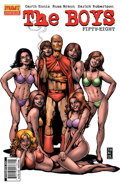 Cover for The Boys (Dynamite Entertainment, 2007 series) #58