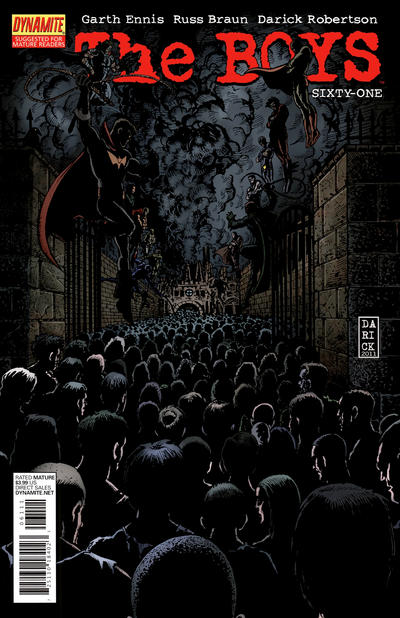Cover for The Boys (Dynamite Entertainment, 2007 series) #61