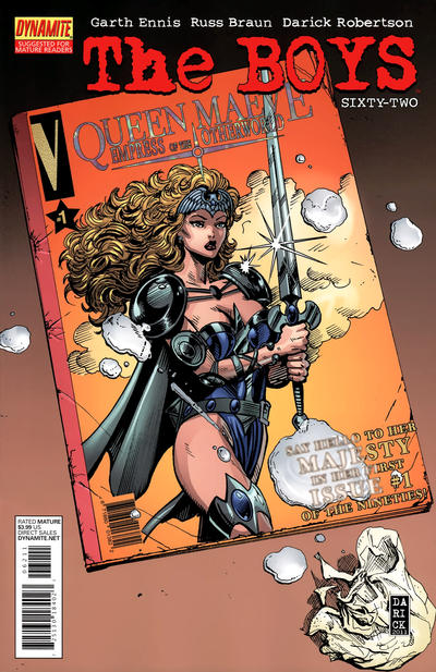 Cover for The Boys (Dynamite Entertainment, 2007 series) #62