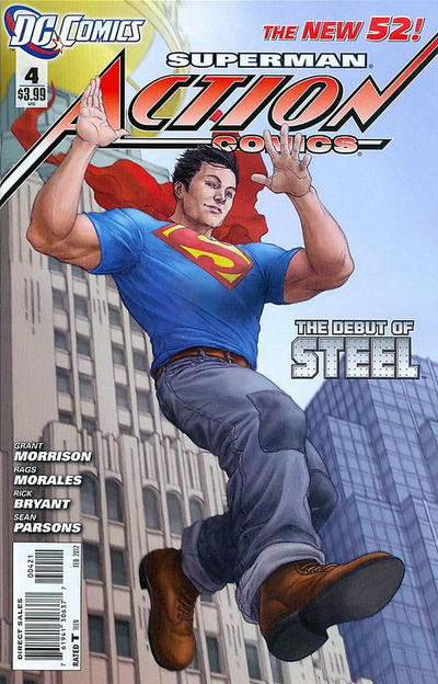 Cover for Action Comics (DC, 2011 series) #4 [Incentive Cover Edition]