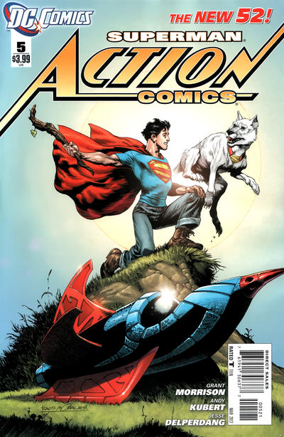 Cover for Action Comics (DC, 2011 series) #5 [1:200 Incentive Cover Edition]