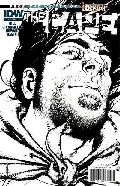 Cover for The Cape (IDW, 2011 series) #2 [Variant Cover B by Nelson Daniel]