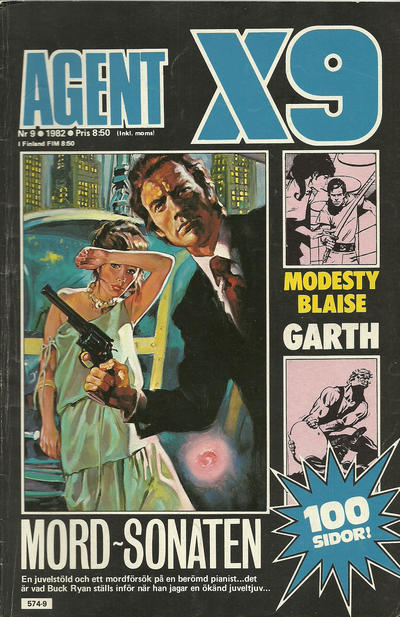Cover for Agent X9 (Semic, 1971 series) #9/1982