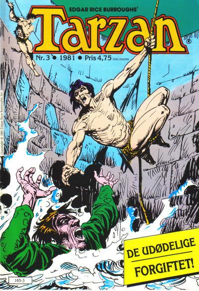 Cover for Tarzan (Atlantic Forlag, 1977 series) #3/1981