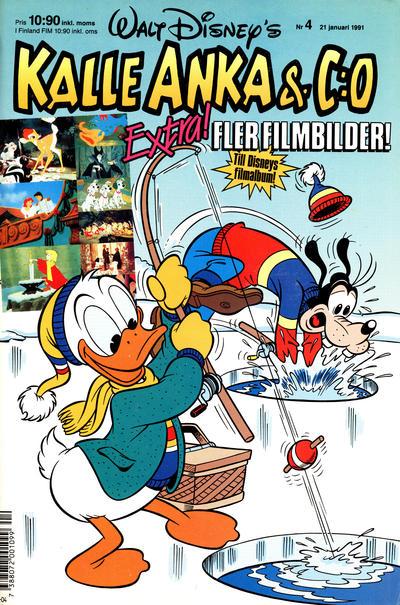 Cover for Kalle Anka & C:o (Hemmets Journal, 1957 series) #4/1991