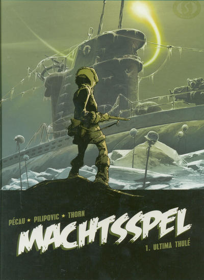Cover for Machtsspel (Silvester, 2009 series) #1 - Ultima Thulé