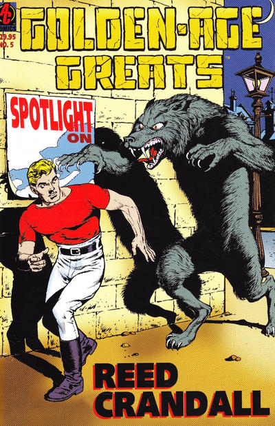Cover for Golden-Age Greats Spotlight (AC, 2003 series) #5
