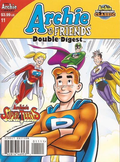 Cover for Archie & Friends Double Digest Magazine (Archie, 2011 series) #11 [Newsstand]