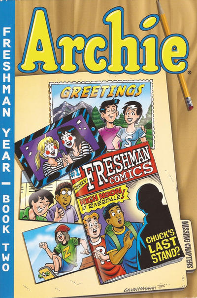 Cover for Archie Freshman Year (Archie, 2009 series) #2