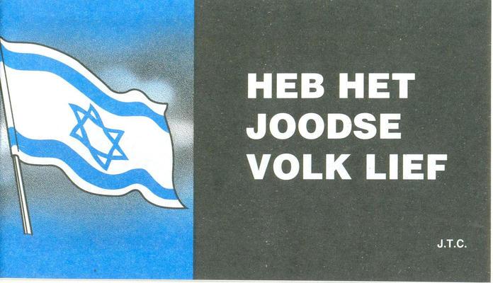 Cover for Heb het Joodse volk lief (Chick Publications, 2007 series)