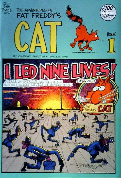 Cover for Fat Freddy's Cat (Rip Off Press, 1977 series) #1 [Revised]