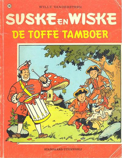Cover for Suske en Wiske (Standaard Uitgeverij, 1967 series) #183 - De toffe tamboer