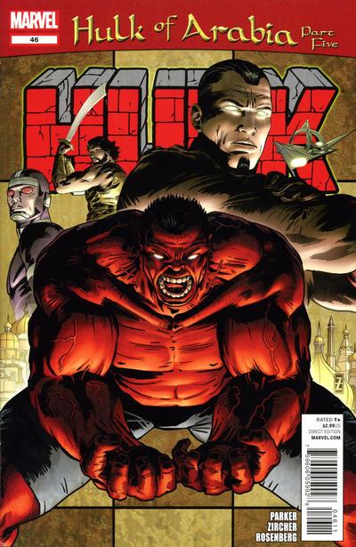Cover for Hulk (Marvel, 2008 series) #46
