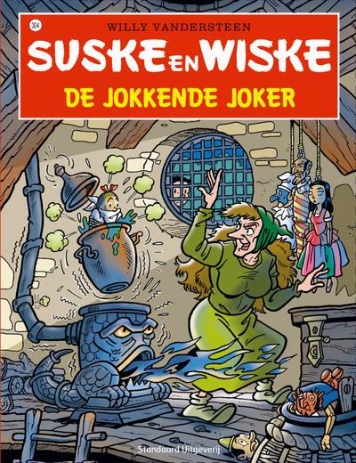 Cover for Suske en Wiske (Standaard Uitgeverij, 1967 series) #304 - De jokkende joker