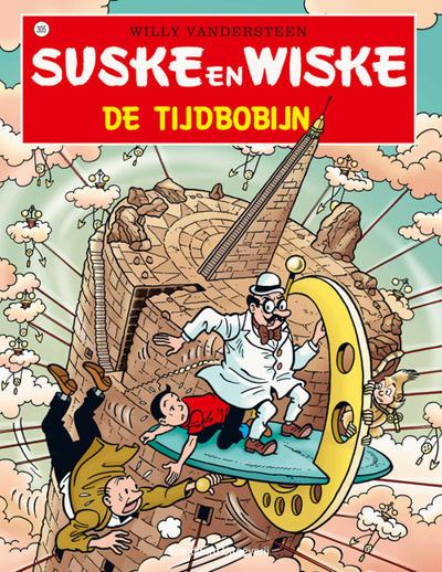 Cover for Suske en Wiske (Standaard Uitgeverij, 1967 series) #305 - De tijdbobijn