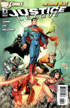 Cover for Justice League (DC, 2011 series) #3 [Greg Capullo / Jonathan Glapion Cover]