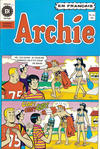 Cover for Archie (Editions Héritage, 1971 series) #54