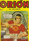 Cover for Orion El Atlante (Editora Cinco, 1974 series) #2
