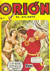 Cover for Orion El Atlante (Editora Cinco, 1974 series) #3