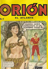 Cover for Orion El Atlante (Editora Cinco, 1974 series) #4
