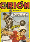 Cover for Orion El Atlante (Editora Cinco, 1974 series) #5