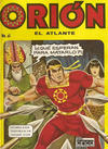 Cover for Orion El Atlante (Editora Cinco, 1974 series) #6