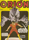 Cover for Orion El Atlante (Editora Cinco, 1974 series) #7