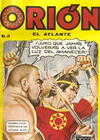 Cover for Orion El Atlante (Editora Cinco, 1974 series) #8