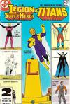 Cover for La Légion des Super Héros et les Nouveaux Jeunes Titans (Editions Héritage, 1984 series) #21